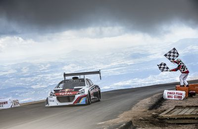 Sébastien Loeb : le Boss de Pikes Peak Edition 2013 (vidéo)