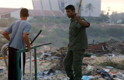 Dix ans apres l'evacuation du Gush Katif les terres vont etre distribuees aux membres du Hamas