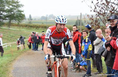 Cyclo cross de Serres Castet : Cyril Bouty vainqueur. - Dimanche 15 Octobre 2017 1er cyclo cross de Serres Castet (64) Organisation : SC Serres Castet Résultats http://www.ffccyclisme64.fr MINIMES 1 POUYAU Sebastien FC OLORON CYCLISME Minime () 2 LISABOIS MORTUAIRE Lola SC SERRES CASTET Minime () 3 VERGNAUD Lukas SC SERRES CASTET Benjamin () 4 PEYRI CAPERA Eva FC OLORON CYCLISME Minime () ECOLE DE […] - - (Guy DAGOT - Sud Gironde Cyclisme)