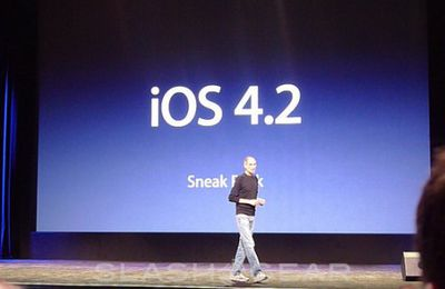 IOS 4.2 : DISPONIBLE
