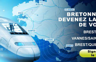 La Bretagne à moins de 3h de Paris : un enjeu majeur !