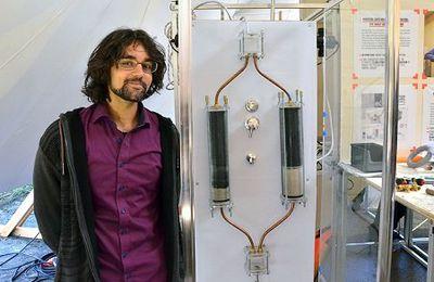 La douche infinie qui ne consomme que 10 litres d'eau