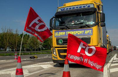 Transports - CFDT et CFTC du secteur  appellent à une grève le 18 septembre -Les fédérations CGT et FO de transports appellent les routiers à une grève reconductible à partir du 25 septembre