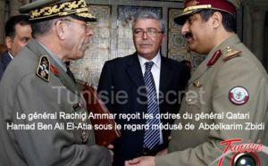 Tunisie : Rachid Ammar place l'armée tunisienne sous commandement du qatar