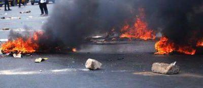 Tunisie: Les forces de l'ordre et de l'armée interviennent pour lever le sit-in de Gabès 17.02.12