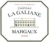 MARGAUX CHATEAU LA GALIANE