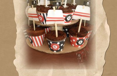 Cupcakes Pirate Party