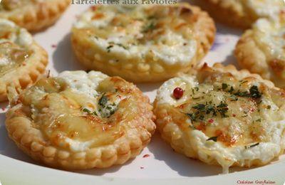 Mini-tartelettes aux ravioles du dauphiné, recette flexipan