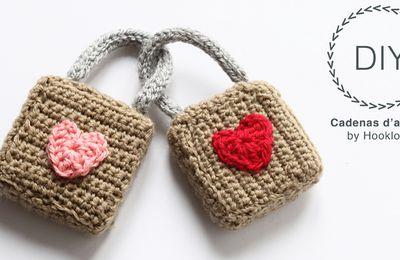 cadenas St valentin au crochet (tutoriel gratuit DIY