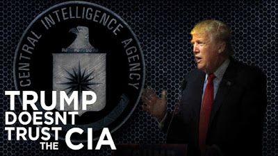 TRUMP S'ATTAQUE ÀLA CIA