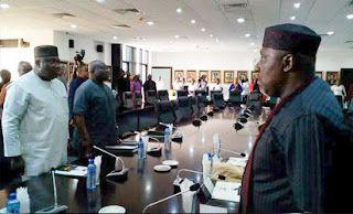 Gictz News:  S-East PDP govs reconsider Buhari option after meeting with Atiku. Gictz News