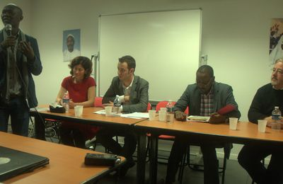 4 février 2017, Paris-Pantin, Tchad : 9e Commémoration de l'assassinat Ibni Oumar Mahamat Saleh