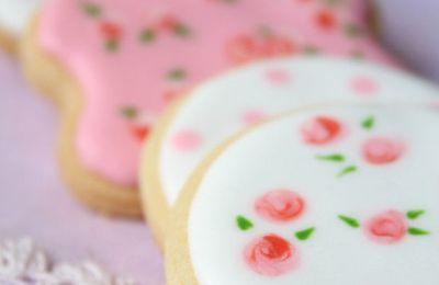 Vintage cookies décorés - Ukrašeni keksići