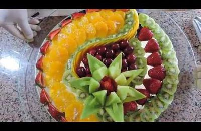 comment faire une belle salade de fruit