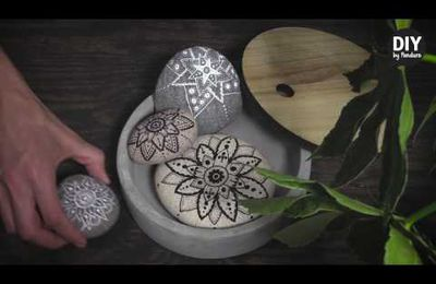 DIY : Do It Yourself : Galets peints