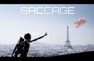 Saccage : le robot écolo qui chasse un sac plastique à Paris