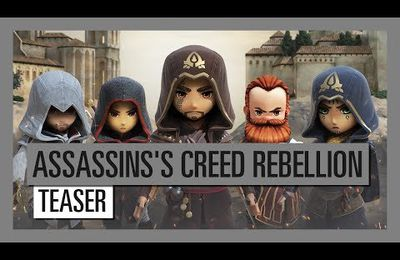 Ubisoft annonce le jeu mobile Assassin's Creed Rebellion