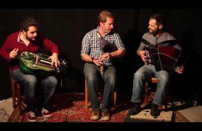 Groupe Nòu : Vielle à roue, cornemuse, accordéon diatonique .....