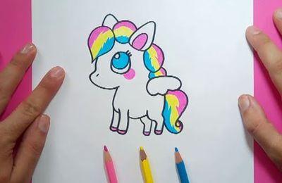 Como dibujar un Poni paso a paso