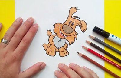 Como dibujar un perro paso a paso 43