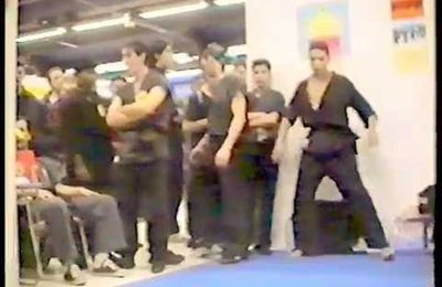 12.-  COURS JEET KUNE DO de BRUCE LEE PAR LE VAN UN CHARLATAN à PARIS