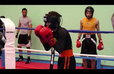 Video entrainement boxe anglaise