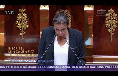 Quand une députée Aide Soignante interpelle la Ministre de la santé