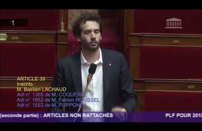 Intervention de Bastien Lachaud à l'Assemblée Nationale sur le logement