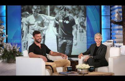 Quel a été le premier béguin de Ricky Martin ?