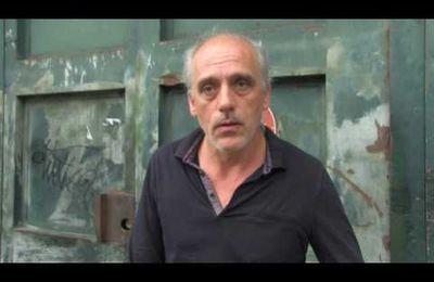 Philippe Poutou , pour la relaxe de Jean-Marc Rouillan