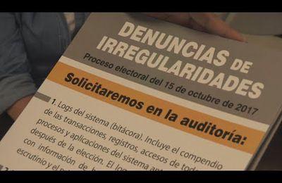 Oposición venezolana denuncia que huellas digitales demostrarían fraude electoral