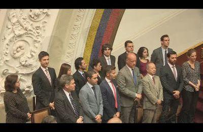Doce embajadores acuden a respaldar al Parlamento venezolano luego de su ''disolución''