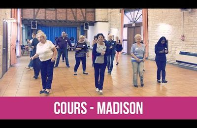 Mes cours de danse : le Madison