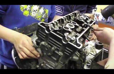Parte il primo corso riparazione automobile