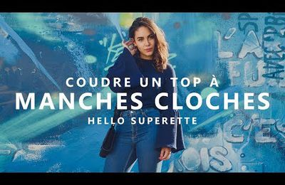 COUDRE UN TOP À MANCHES CLOCHES - TUTO COUTURE FACILE