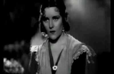 """Imperio Argentina interprétant la copla """"Rocío"""" composée par Quintero, León y Quiroga en 1935"""