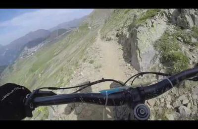 Megavalanche en fat bike par Vincent.