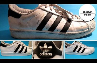 How To Clean Adidas SuperStar