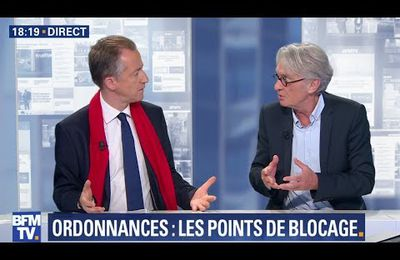 Jean-Claude Mailly - BFM - Code du travail ultimes...