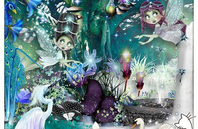 """ The fairies of the forest """