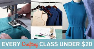 Bon plan sur tous les cours Craftsy