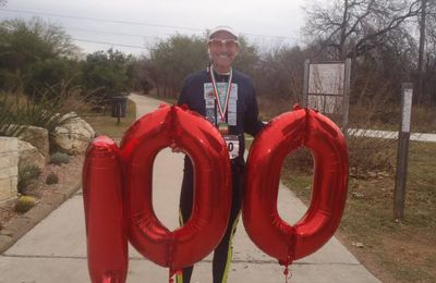 Il a couru 100 marathons en 1 an !
