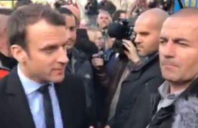 """Macron à  Whirlpool : """"Je suis pas venu vous dire que je vais sauver vos emplois (..) je défends les entreprises de manière juste"""""""