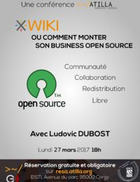 Conférence à l'EISTI Cergy : XWiki ou comment monter son Business Open Source