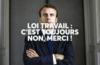 Loi travail : la majorité des francais toujours contre !