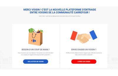 """Impréssionnant! """"Merci Voisin"""" : la livraison collaborative bientôt déployée par Carrefour"""