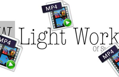 Transcode and Import MP4 files into Lightworks
