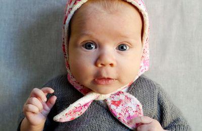 bonnet bébé (tutoriel gratuit - DIY)