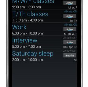 HOW TO : Schedule the Silent Mode on #Android...