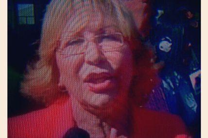 Photo: Alcaldesa Amalia Saenz en vivo por LaraTvec...